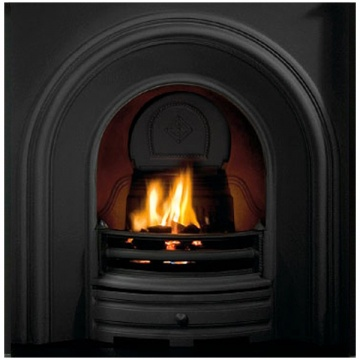 Gallery Crown Cast Iron Fireplace Insert Flames Co Uk